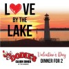 Lakeside Sweetheart Dinner for Two at Dodie's Rockwall this Valentine's Day