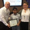 Rockwall Noon Rotary recognizes Student of Honor from Cullins-Lake Pointe