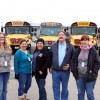 Rockwall ISD bus drivers create loving environment for students on Valentine's Day