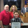 Rockwall Noon Rotary recognizes Student of Honor from Nebbie Williams