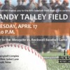 RISD to hold Dedication Ceremony for Randy Talley Field