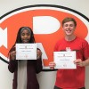 Rockwall High School Jacket Backers names April Athletes of the Month