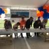 Rockwall ISD holds beam-signing ceremony for Virginia Reinhardt Elementary School