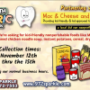 Food drive at Smiley Tooth locations to benefit Mac & Cheese and Pancakes