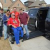 Local Veteran Receives New Handicap-Accessible Vehicle