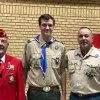 Wyatt Ashlock earns Good Citizenship Award at Eagle Scout Court of Honor