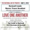 Rockwall County Mayors' Prayer Breakfast May 2