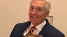Larry Parks of Rockwall Receives 50-Year Banker Award