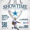 Meet & Greet Event with Kendial Lawrence on June 1, Football Camp  on June 15