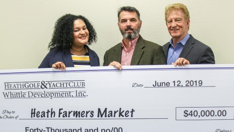 Heath Golf & Yacht Club and Whittle Development Company Accept Opportunity to be Exclusive Sponsor of New Heath Farmers Market