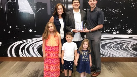 Local Dad Honored as Father of the Year