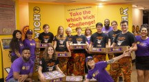 Full Metal Jackets help spread goodness with Project PB&J