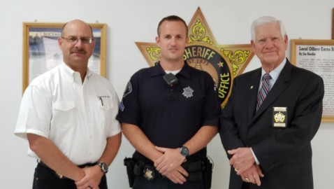 Kristopher Stallon Promoted to Corporal at Rockwall County Sheriff's Office & Detention Center