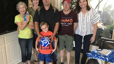 Surprise for Riley: German Bone Marrow Donor Meets Young North Texas Recipient