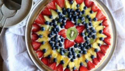 Cooking with Ease by Melissa Tate: Fruit Pizza