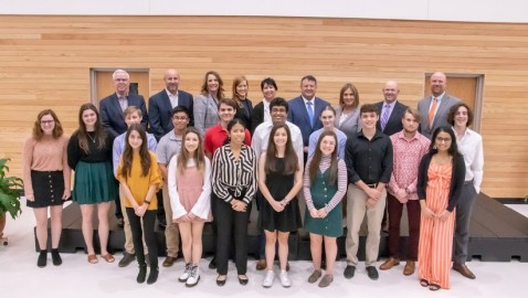 National Merit students honored as Rockwall ISD Scholastic Champions
