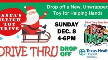 Drive-thru toy drive, family festivities at Texas Health Hospital Rockwall Dec 8
