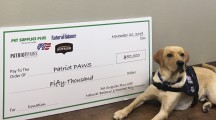 Pet Supplies Plus donates $50,000 to Rockwall's Patriot Paws