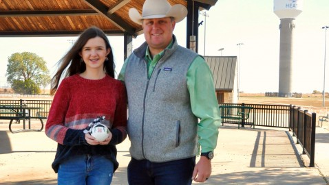 Rockwall-Heath student's ornament to represent District 33 on Texas Capitol Christmas tree
