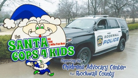 Rockwall Police to host Santa Cops 4 Kids 5K, 1-Mile Run