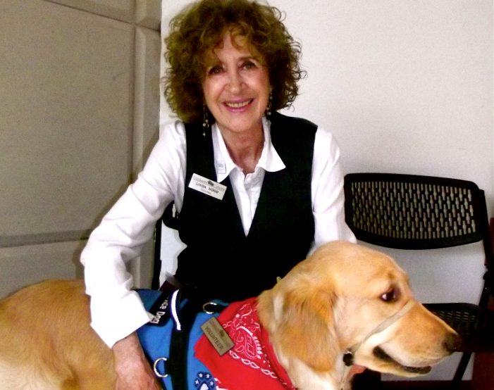Eisemann volunteer gives back through Patriot Paws