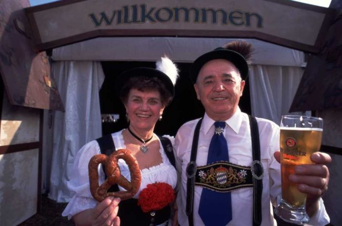 Celebrate Oktoberfest with polka, folk dance, contests