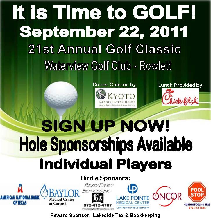 Rowlett Chamber to host 21st annual golf classic