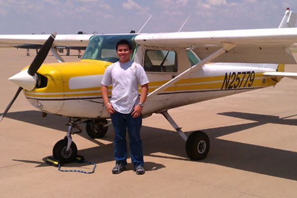 Wylie East student flies solo