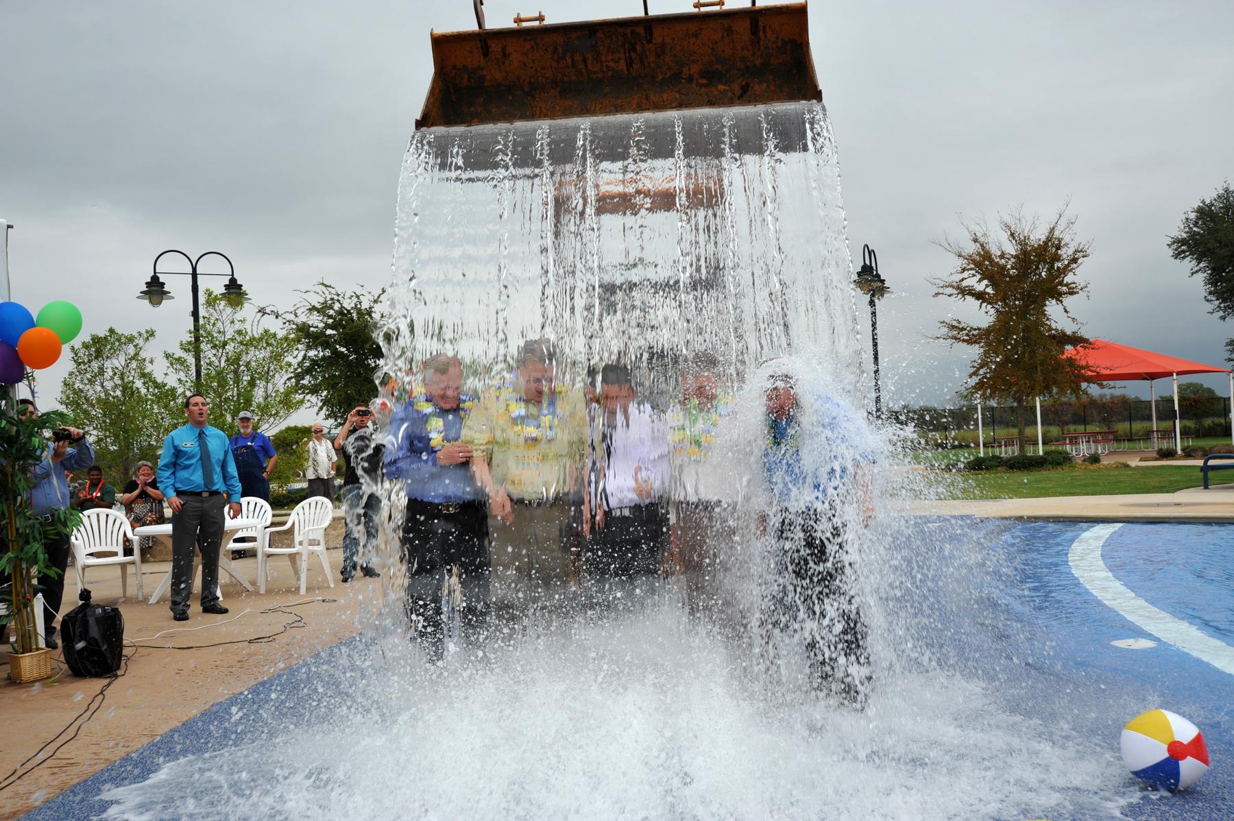Waco breaks ground on Central Texas' First Hawaiian Falls | Blue ...