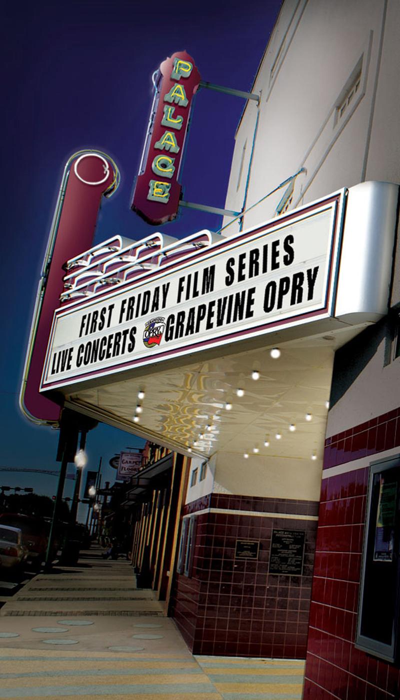 Celebrate restoration of Palace Arts Center with jazz, Opry, movie