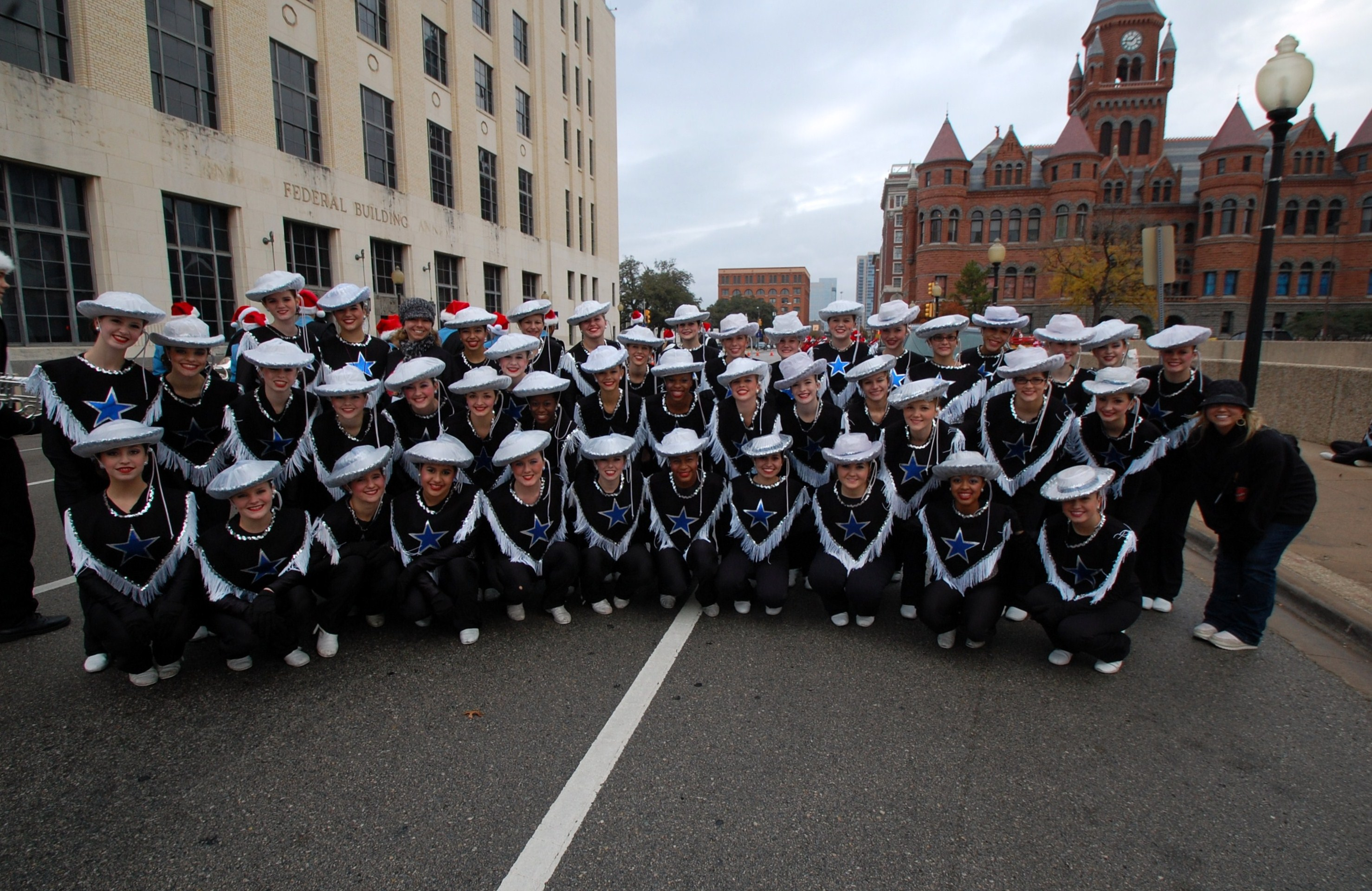 Wylie dancers march in Children's Christmas Parade