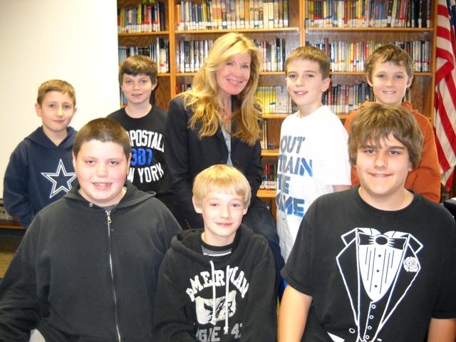 Rockwall schools welcome children's author Kate Klise