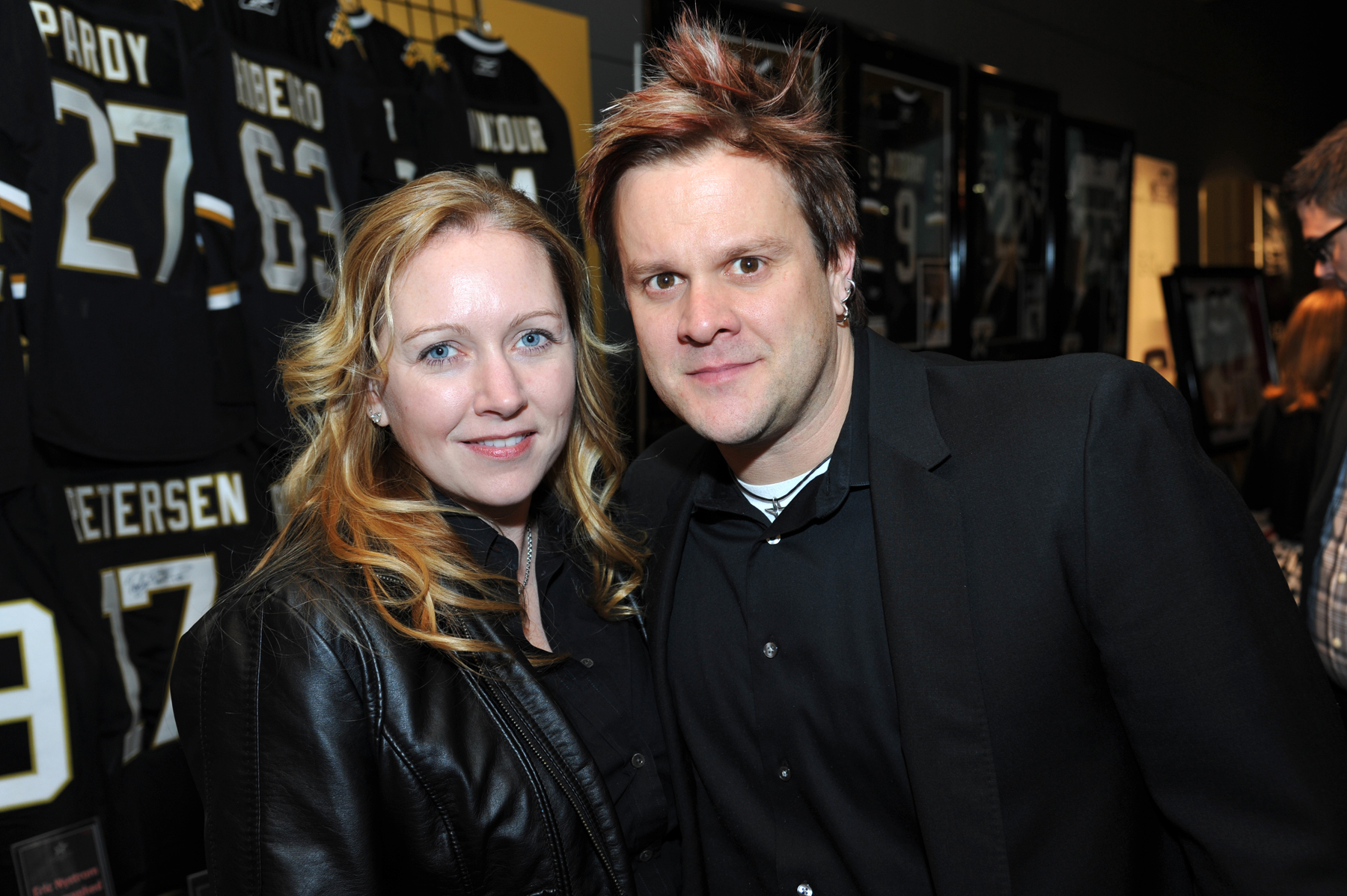 1547Melissa & Jaret Reddick, lead singer of Bowling for Soup