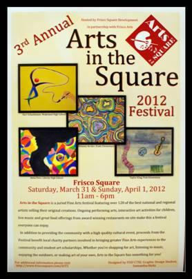 Call for volunteers for Arts in the Square