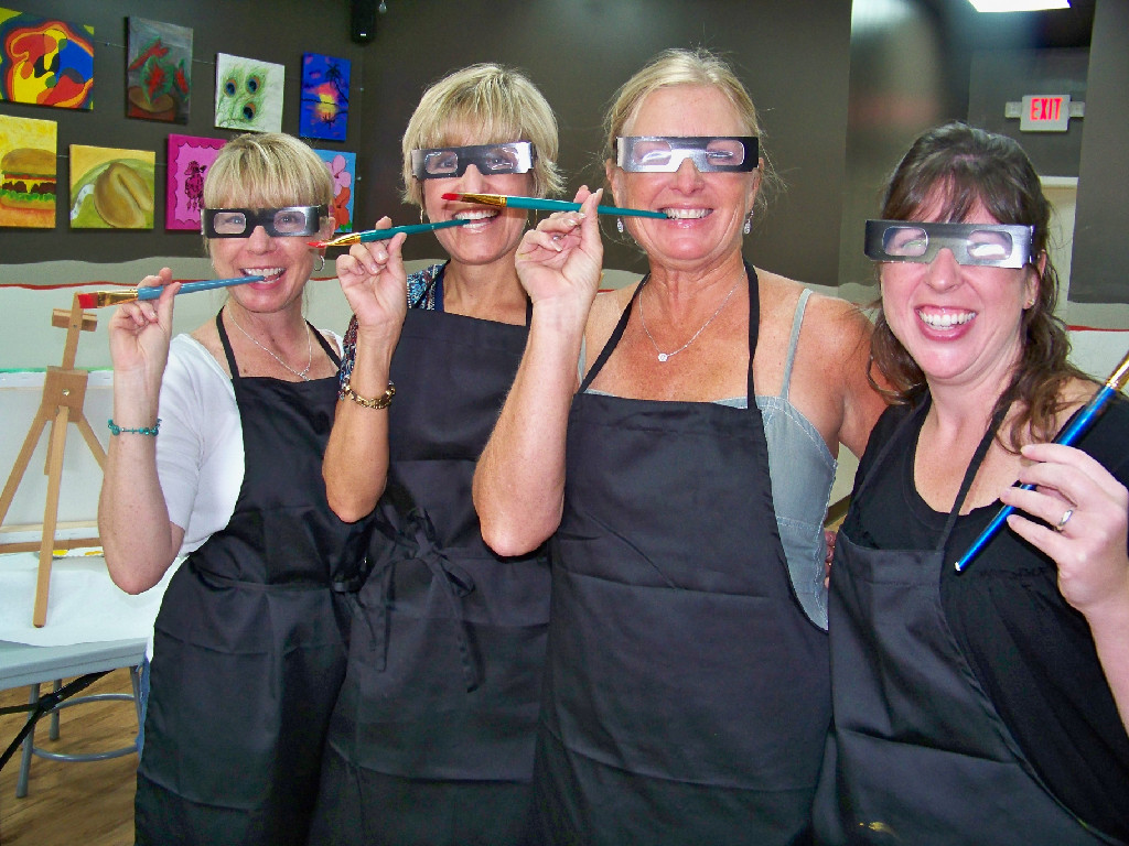 Every day's a party at Art's a Blast in Rockwall