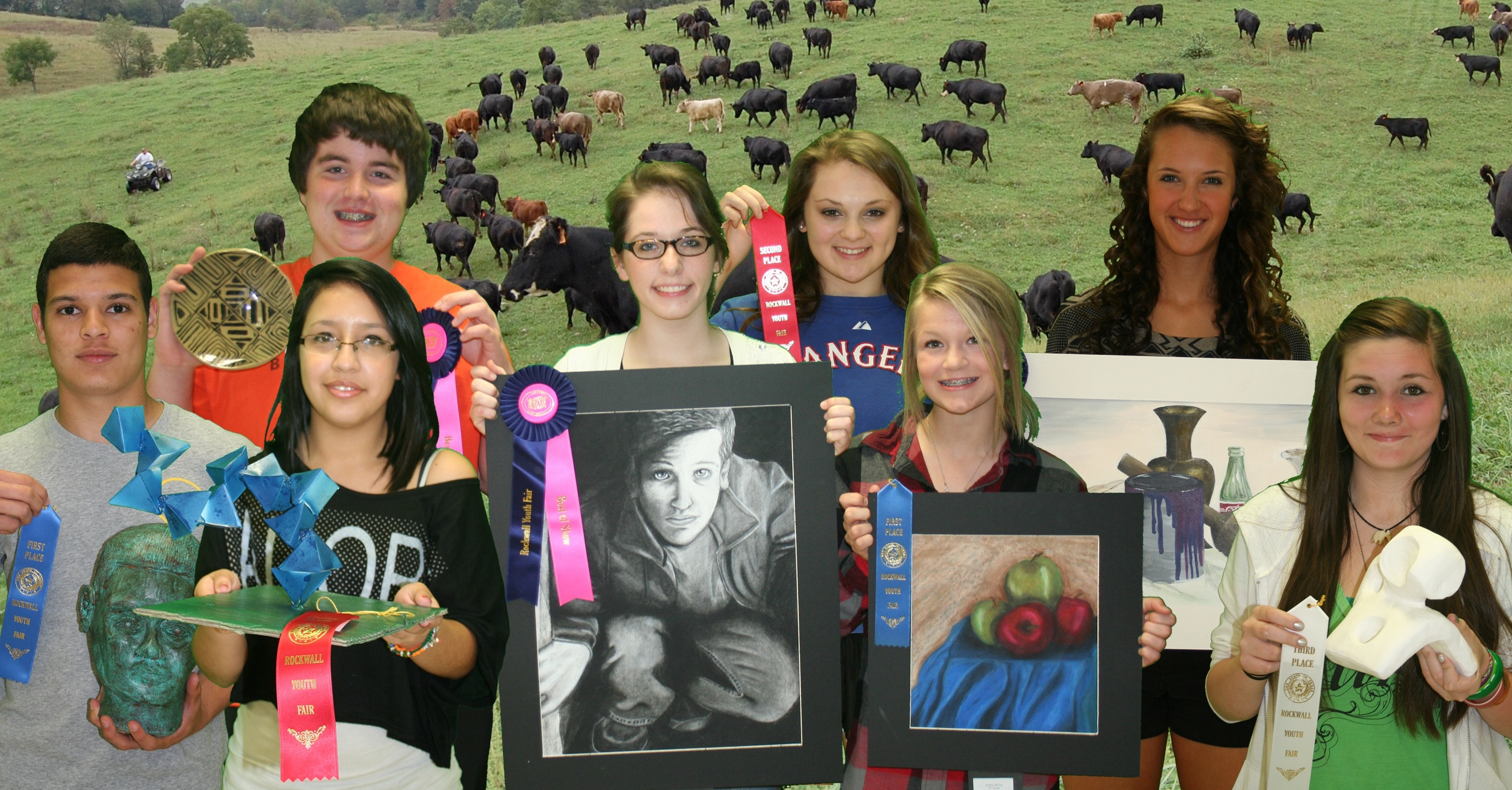 Rockwall High artists draw top honors at Youth Fair