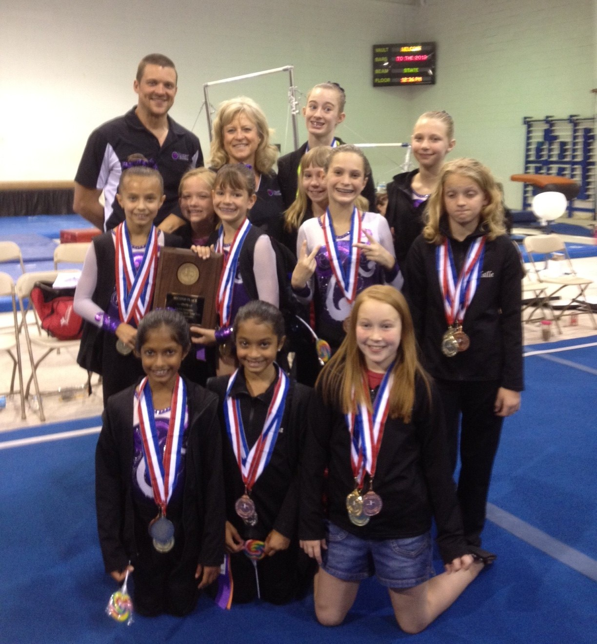 'Best' gymnasts earn top honors at state championships