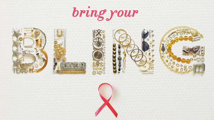 'Bring your Bling' kicks off fundraiser for free mammograms