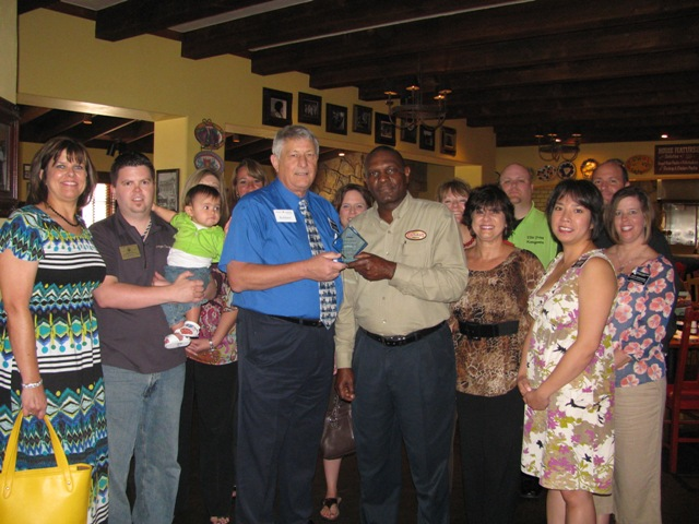 Carino's named Business of the Month