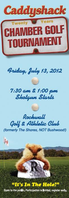 Rockwall Chamber golf tourney screen