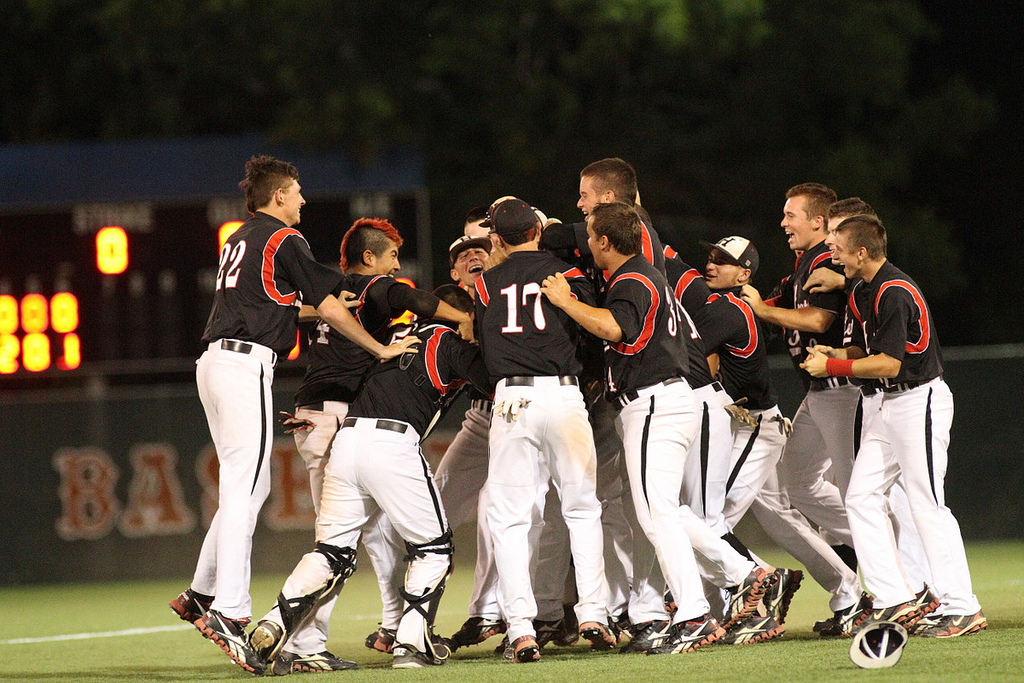 Join Heath baseball's championship send-off