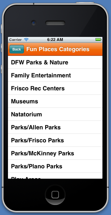 AroundTownKids offers updated free app for Metroplex parents