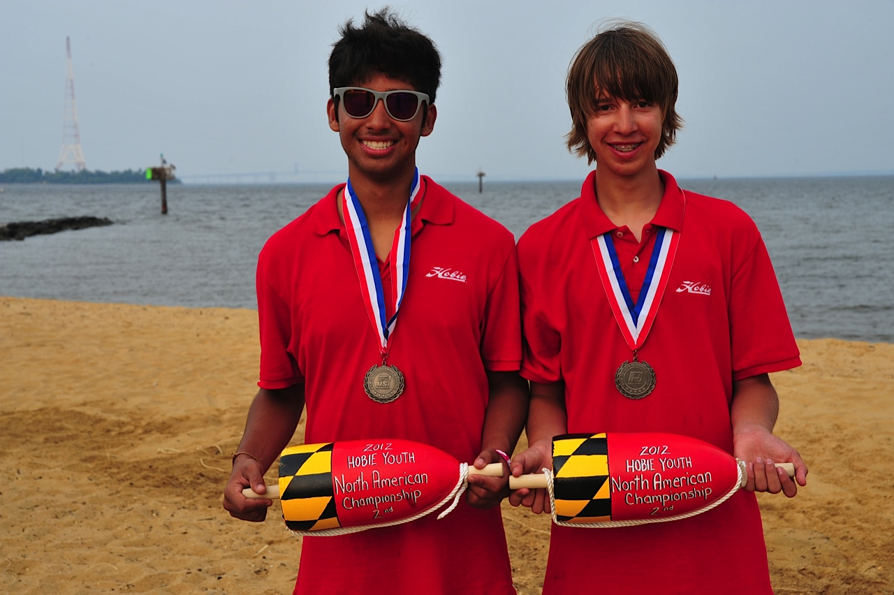Heath sailor wins silver at US Jr Olympic Sailing Festival