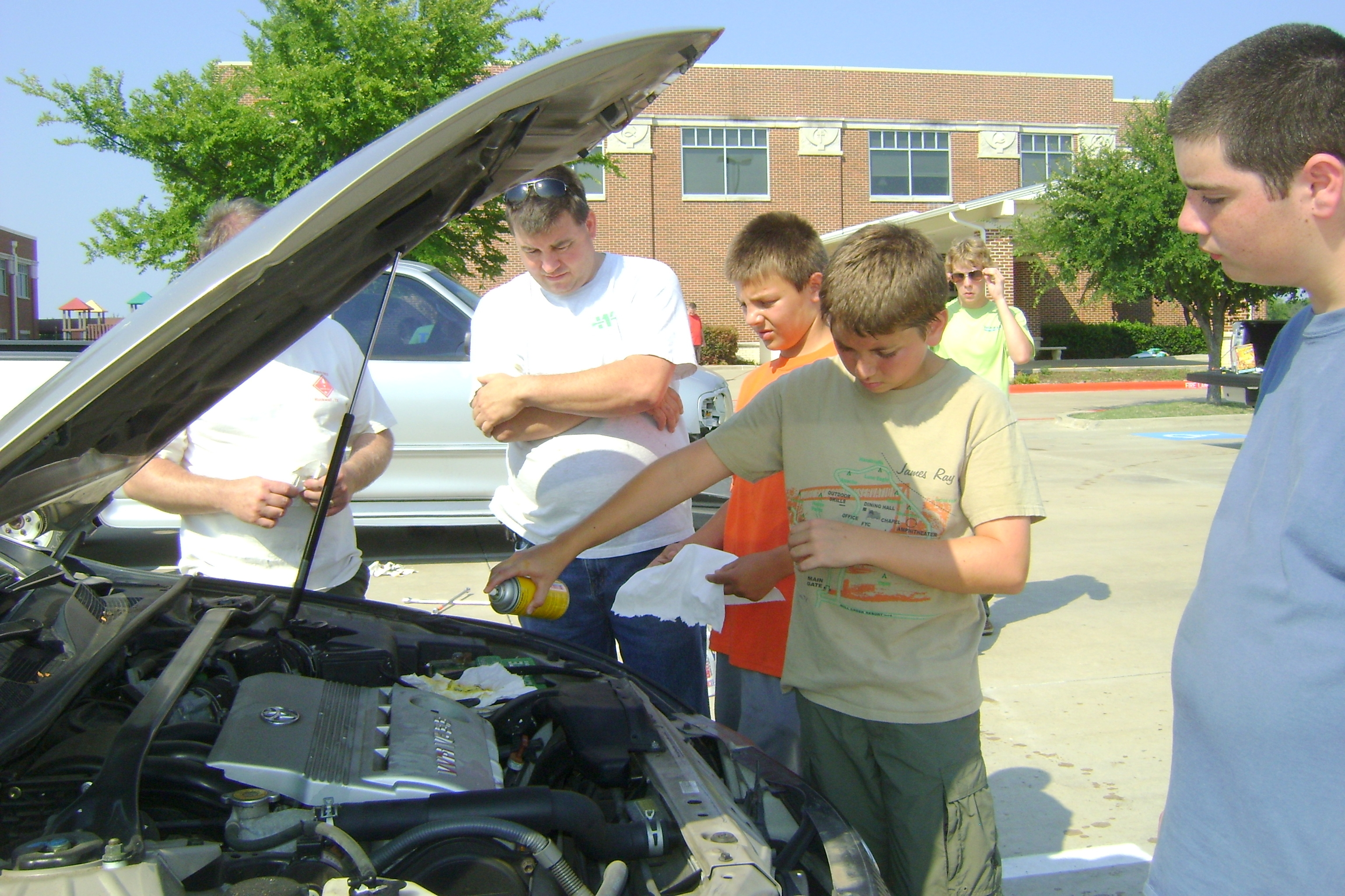 Eagle Scout project serves those in need by servicing their cars