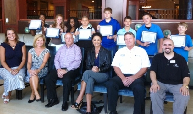 Teens graduate from new Hilton Leadership Program