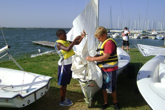 Sailing scholarships give Helping Hands children opportunity to learn sport
