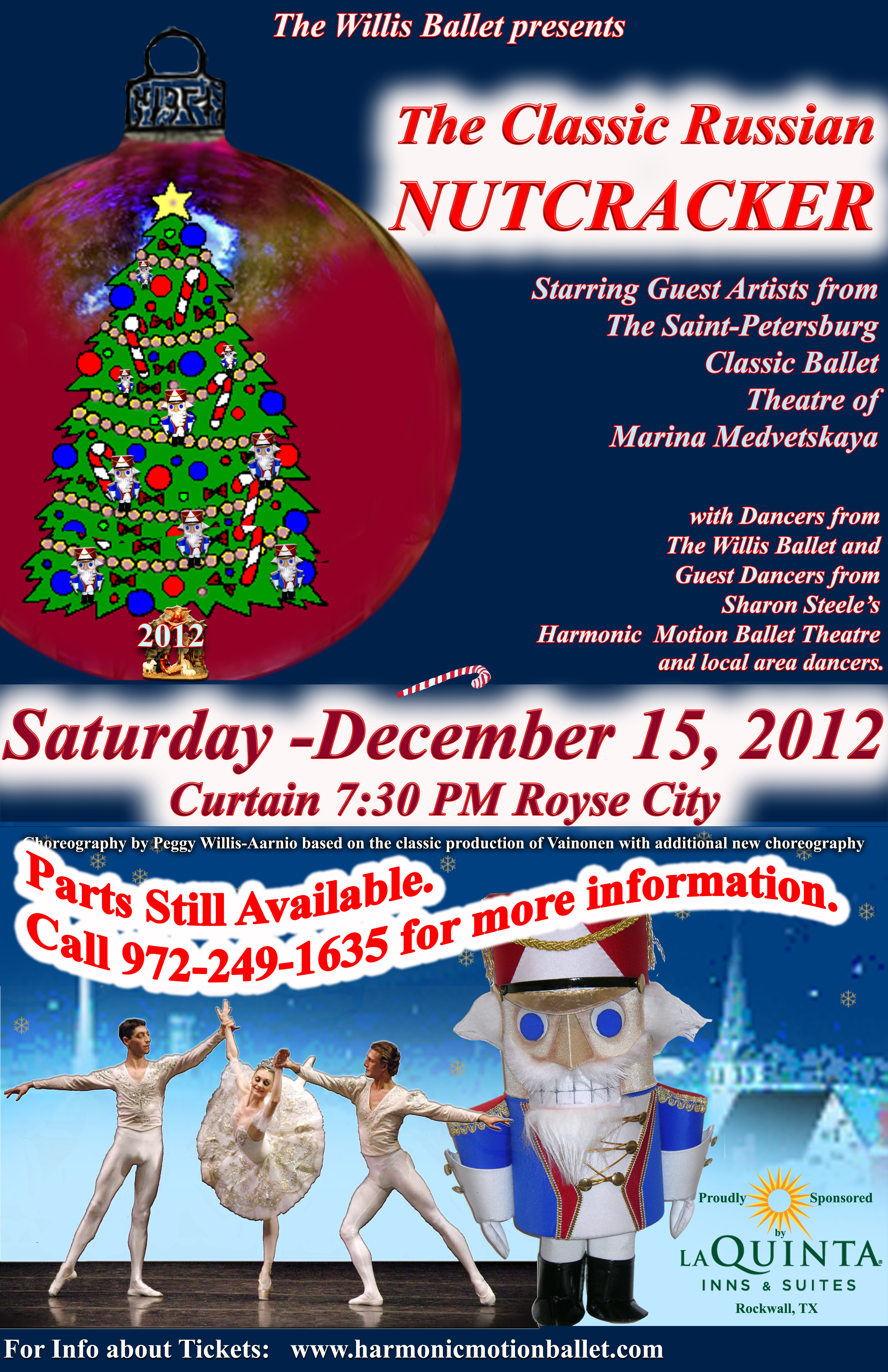 Local dancers to perform in Nutcracker in Royse City