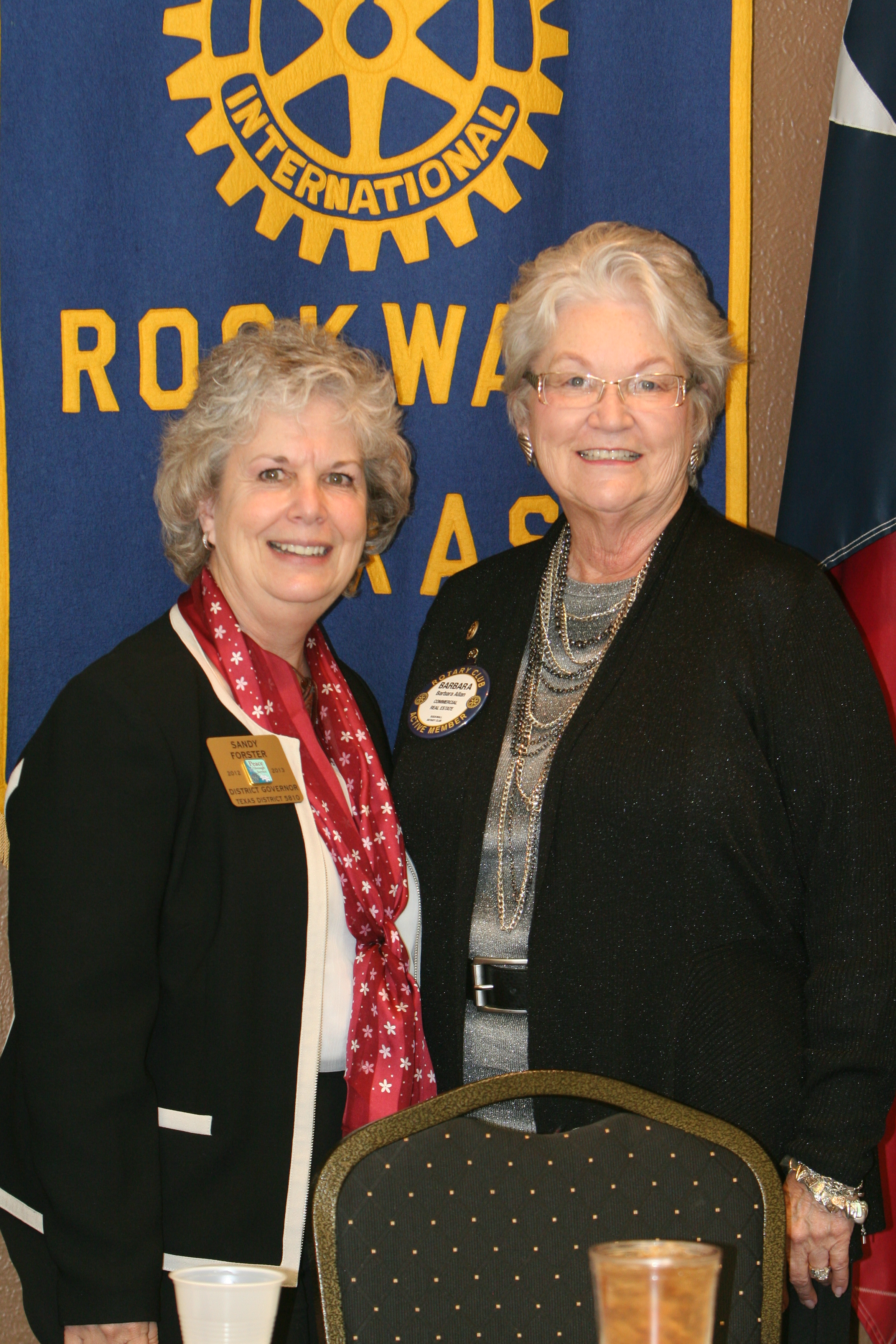 Rotary District 5810 Governor comes to Rockwall