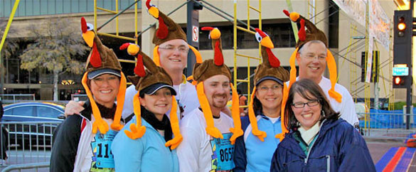 For nearly 40,000 people, Thanksgiving Day begins with Dallas YMCA Turkey Trot