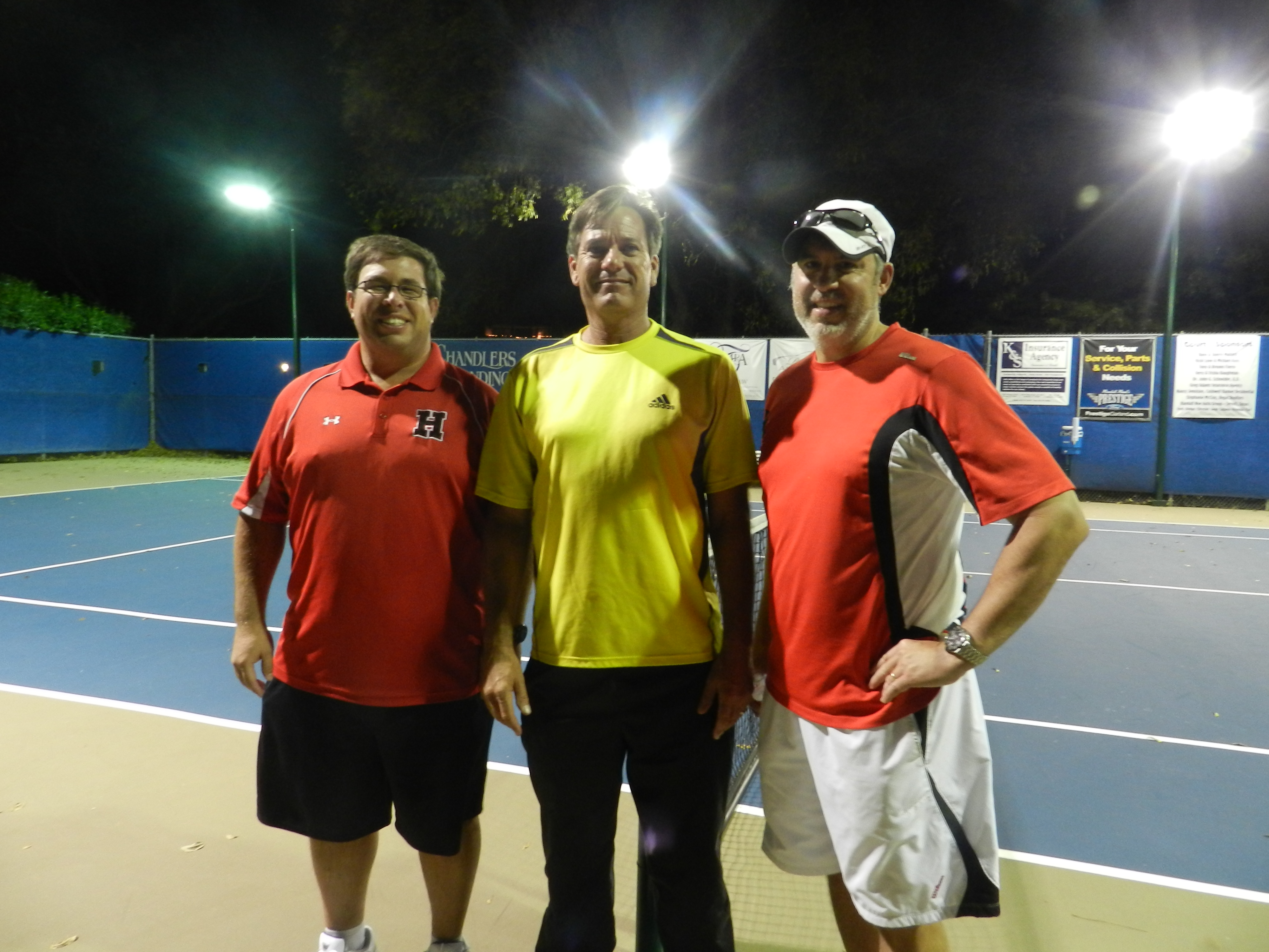 Heath Hawks Pro/Am tennis fundraiser big success